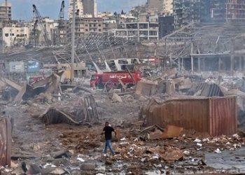 Satu Warga Negara Indonesia (WNI) di Beirut, Lebanon dikabarkan terimbas ledakan besar, Selasa (4/8/2020) waktu setempat. IST