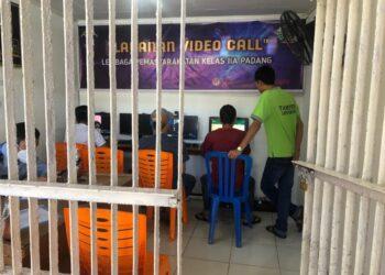 video call lapas padang