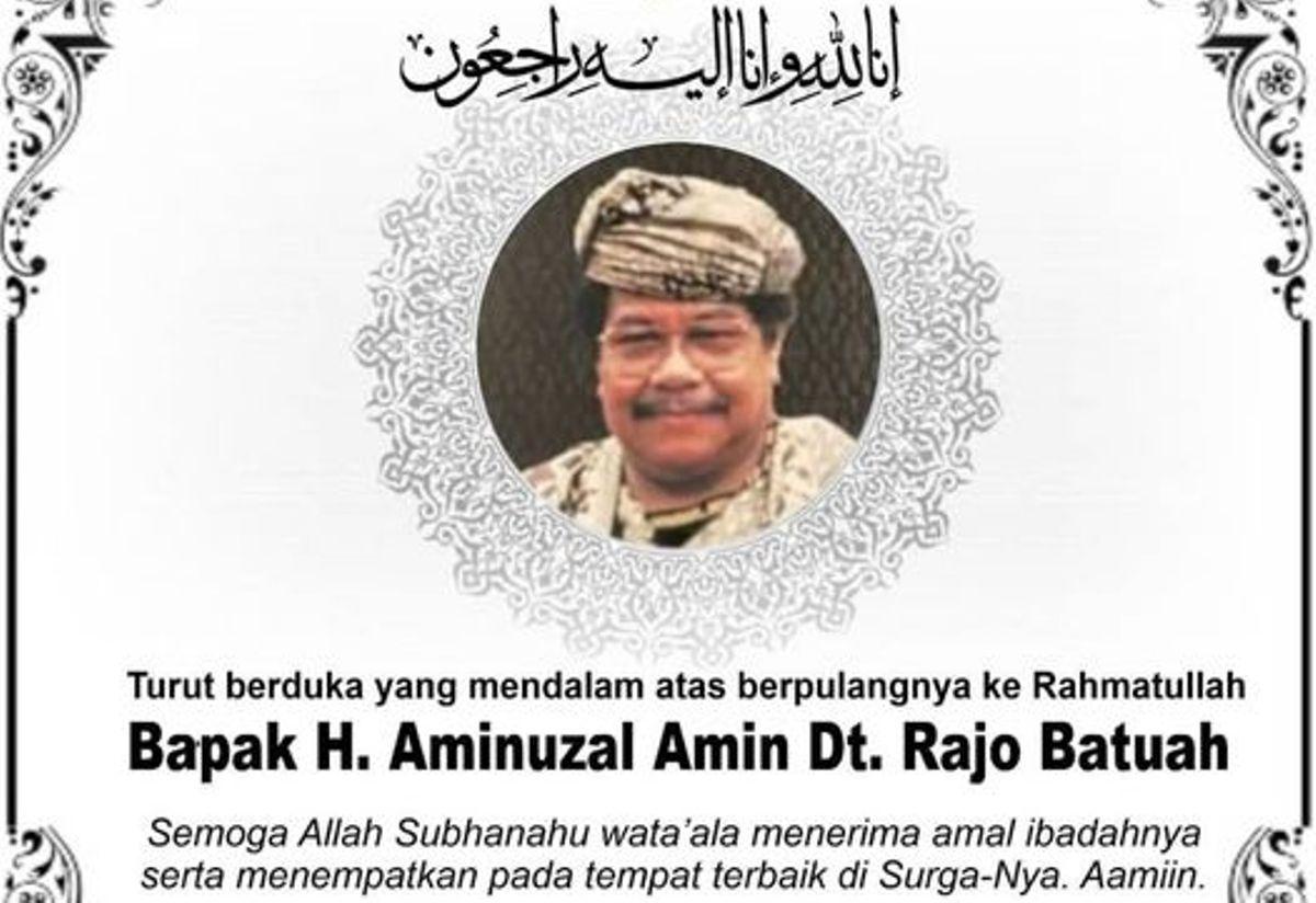 Selamat Jalan Datuk Amin
